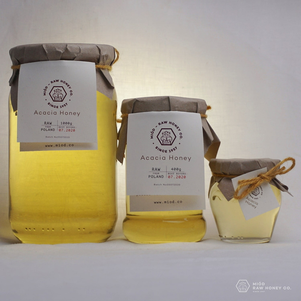 Raw Acacia Honey by Miod Raw Honey Co.