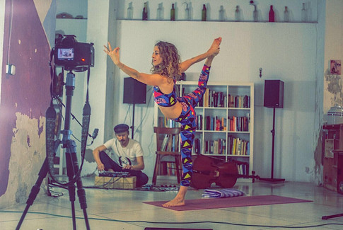 Restorative Yoga Flow & Live Music Class - Download the Full 60 Min Video by YO-MU