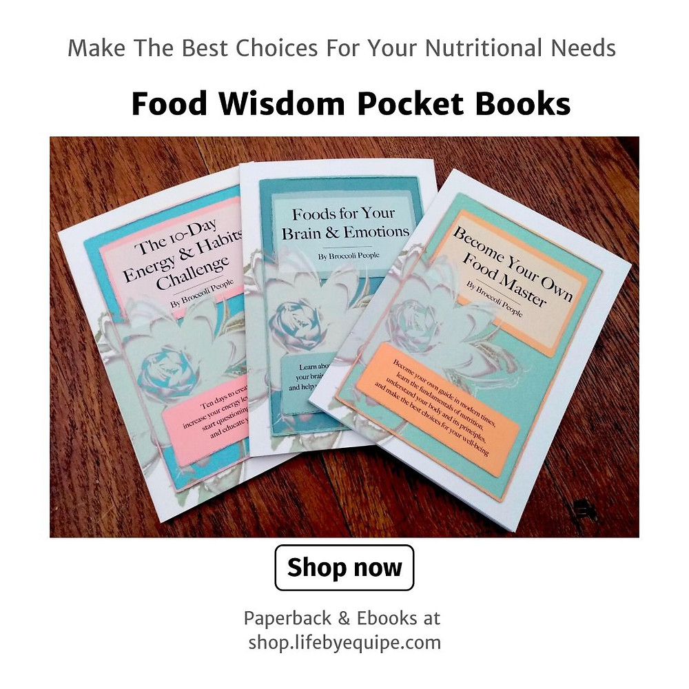 Food Wisdom Books & Ebooks by Broccoli People