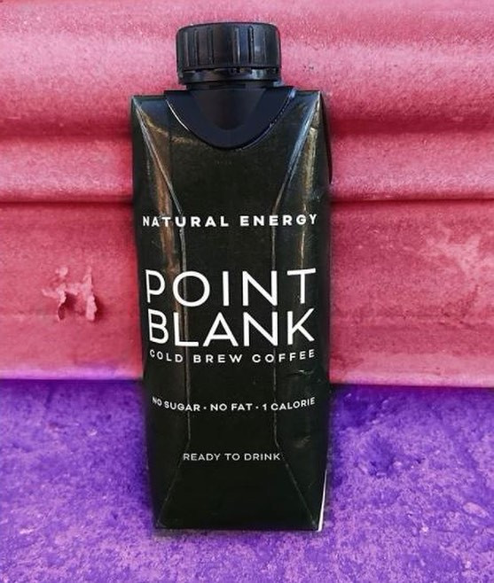 Cold Brew Coffee by Point Blank