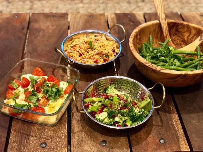Mediterranean Mezze Feast