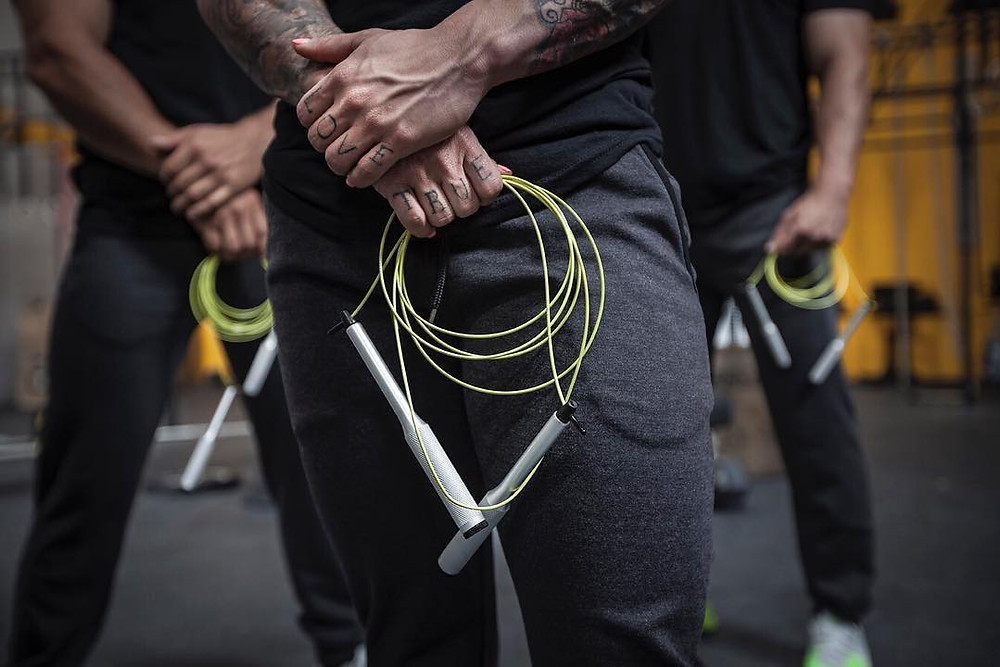 High Quality Competition Jump Rope - Vropes Fire 2.0 Velites