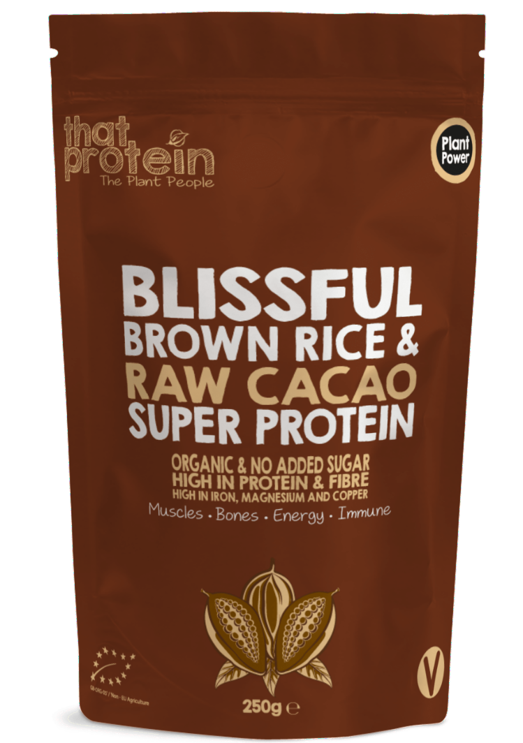 Blissful Brown Rice & Raw Cacao Super protein by That Protein