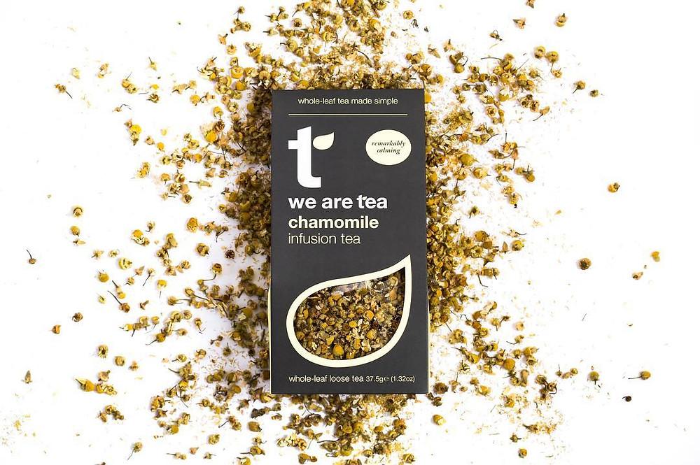 shop.lifebyequipe.com we are tea chamomile loose leaf tea