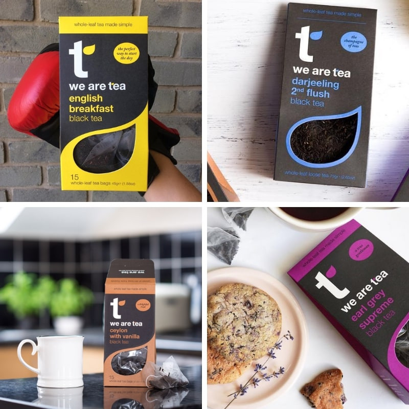Black Teas in loose leaf and tea bags by We Are Tea