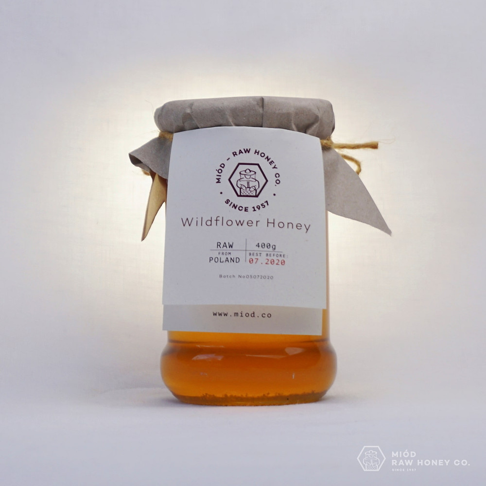 Raw Wildflower Honey by Miod Raw Honey Co.