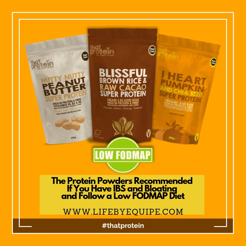 The Protein Powders Recommended If You Have IBS and Bloating and Follow a Low FODMAP Diet