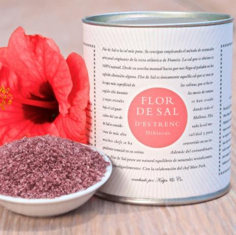 Flor de Sal d'Es Trenc Mallorcan Salt - Hibiscus