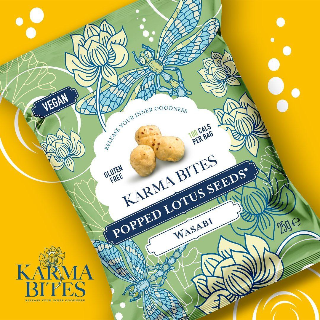 Karma Bites Popped Lotus Seeds