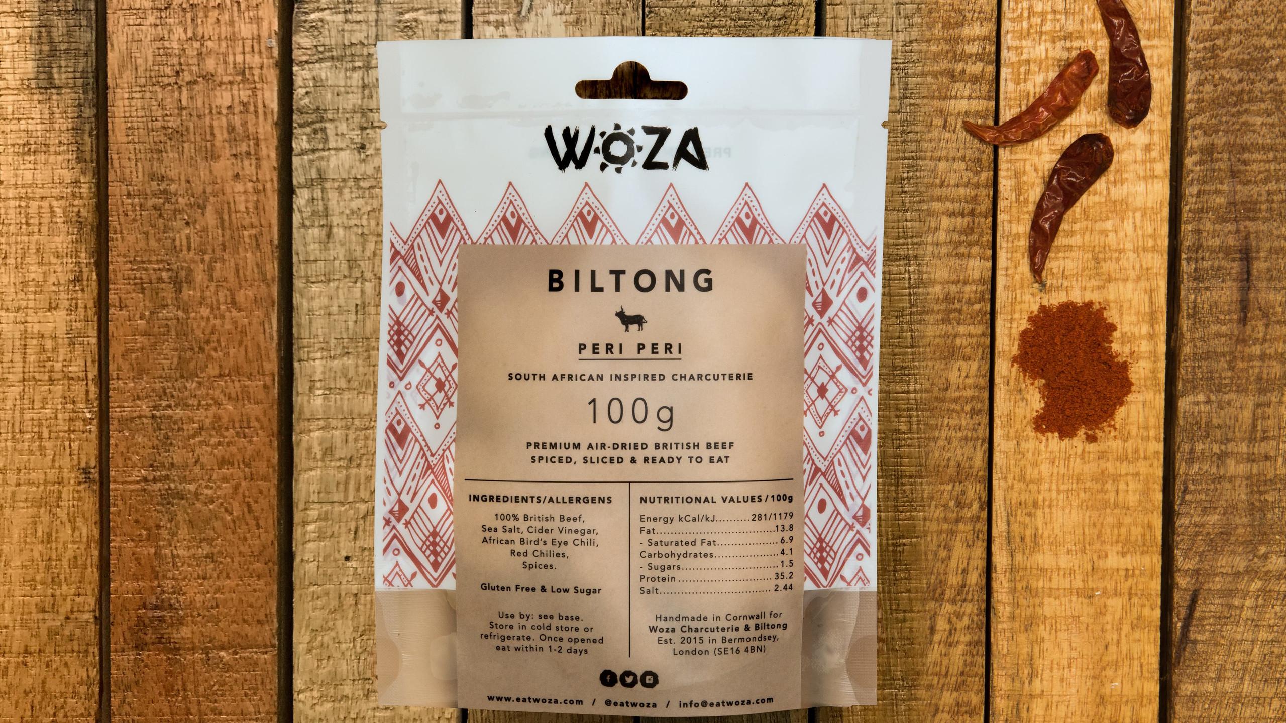 Peri Peri Beef Biltong Sharing Pack