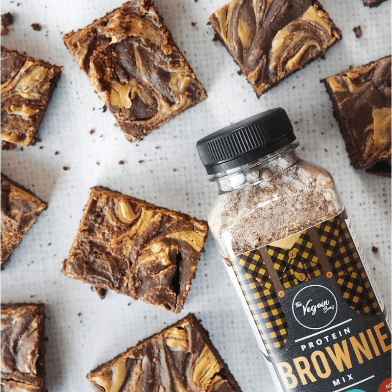 Vegan Chocolate Fudge Protein Brownie Mix