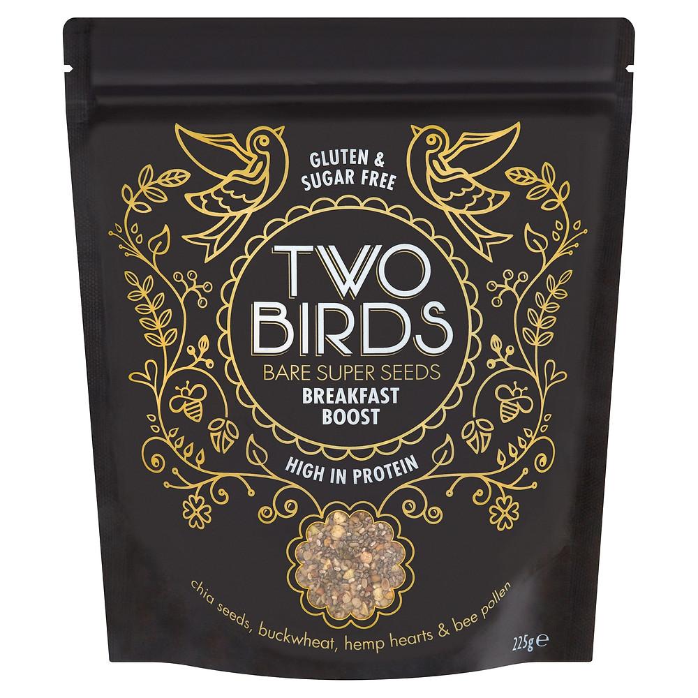 Bare Super Seeds Breakfast Boost - Two Birds Cereals