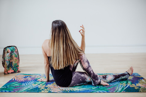 Be in Full Bloom with Dreamy Botanical Luxe Printed Yoga Mats and Microfibre Towels