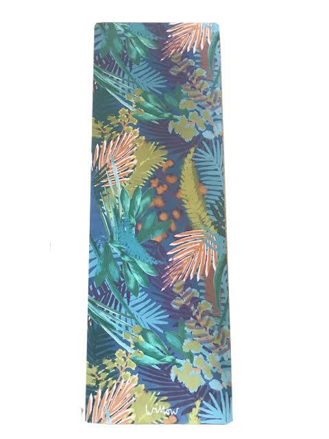 Kew Tropics Indigo Yoga Mat