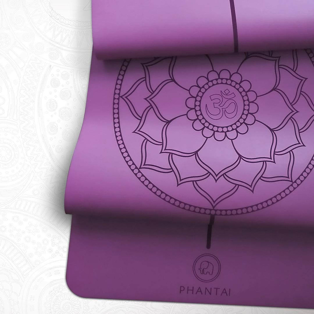 Phantai Yoga Trusted by yoga teachers and students - Non-slip grip, eco-friendly and gorgeous yoga mats