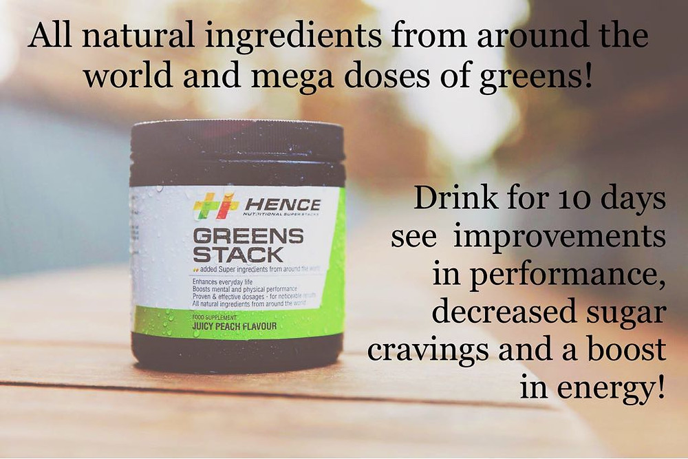 Greens Stack powder is 100% natural and made from synergistic, scientifically proven ingredients for the mornings.