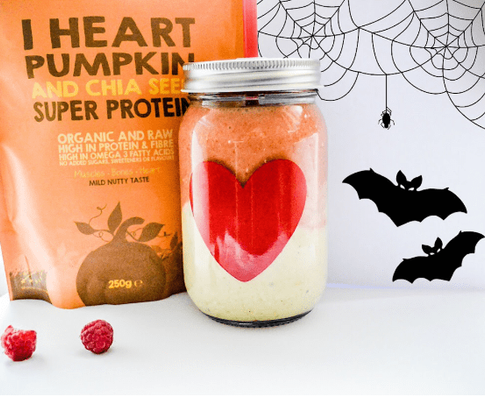 Halloween Pumpkin and Chia Protein Smoothie