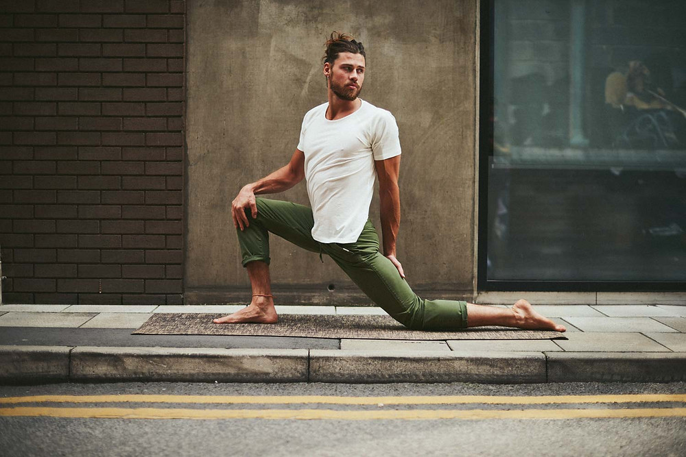 Organic cotton T-shirts and tees from So We Flow - men's yoga and movement clothing