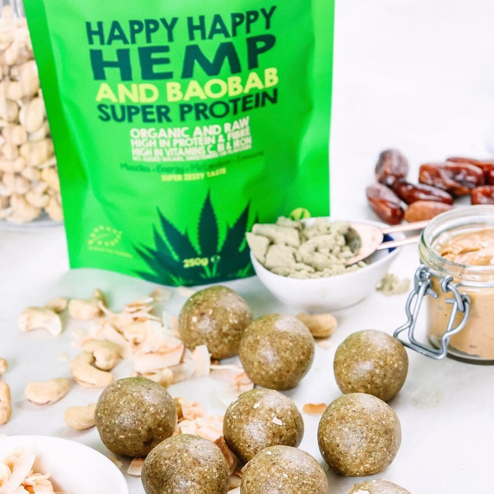 Shine Bright In Your Best Skin With This Vegan Happy Happy Hemp & Baobab Bliss Balls Recipe