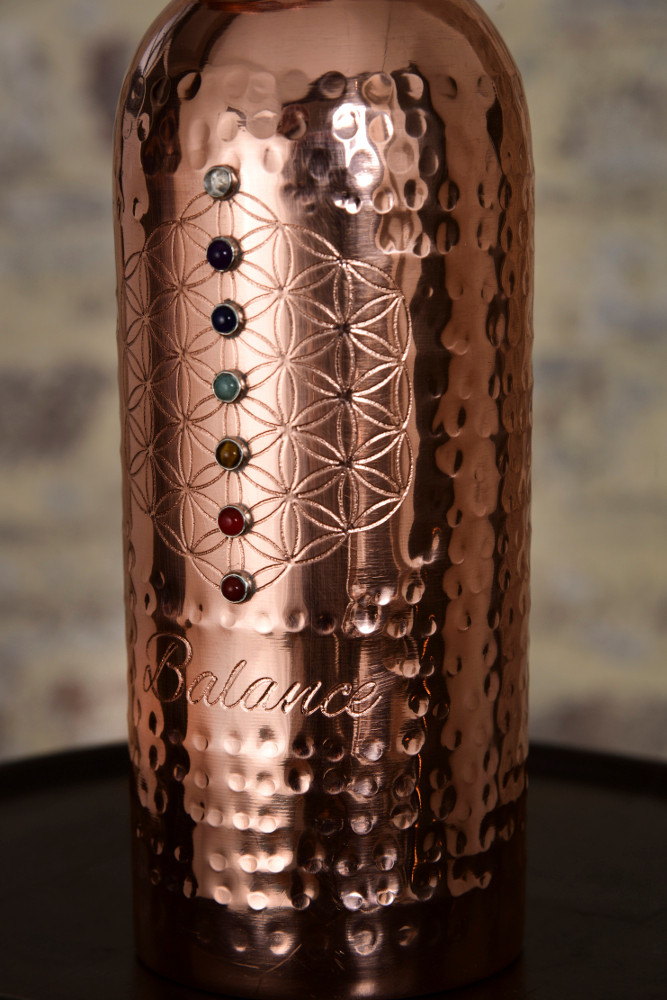 My Copper Cup Stylish and sustainably made copper water vessels with mantra engravings and crystal chakra affirmations to mindfully rehydrate.