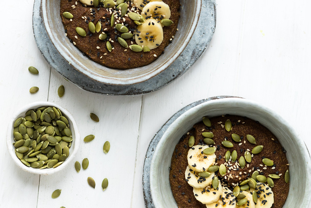 Turmeric & Teff Porridge