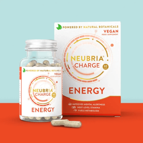 Neubria Charge - Advanced Energy Supplement To Promote Mental Alertness