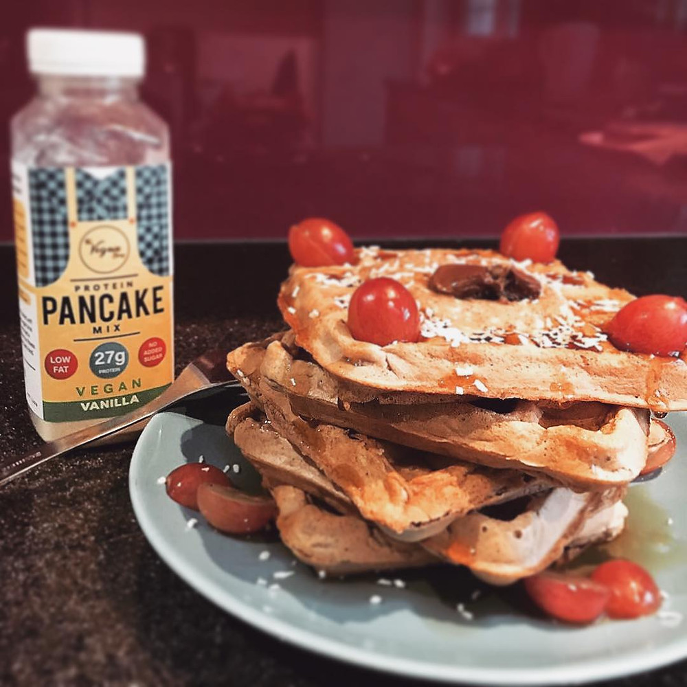 The Vegain Bros -  High Protein Vegan Baking Mixes for Pancakes, Waffles & Brownies