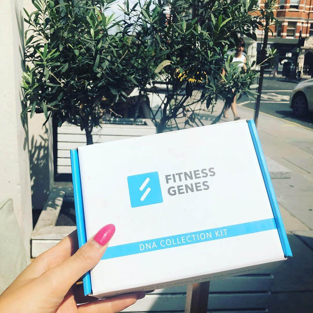 DNA Analysis Kit & Upload Service for personalised fitness & weight loss insights