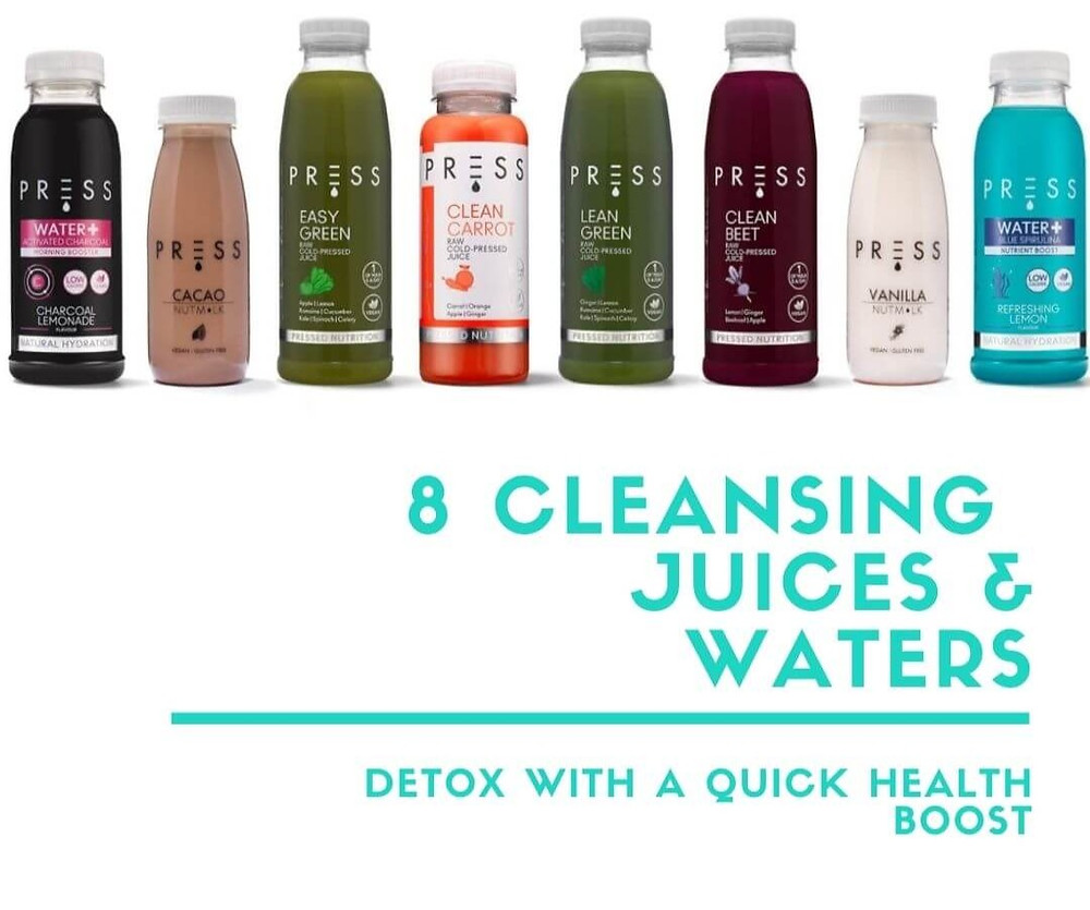 Fill Your Fridge - 8 Cleansing Cold-Pressed Juices and Waters Juice cleanse