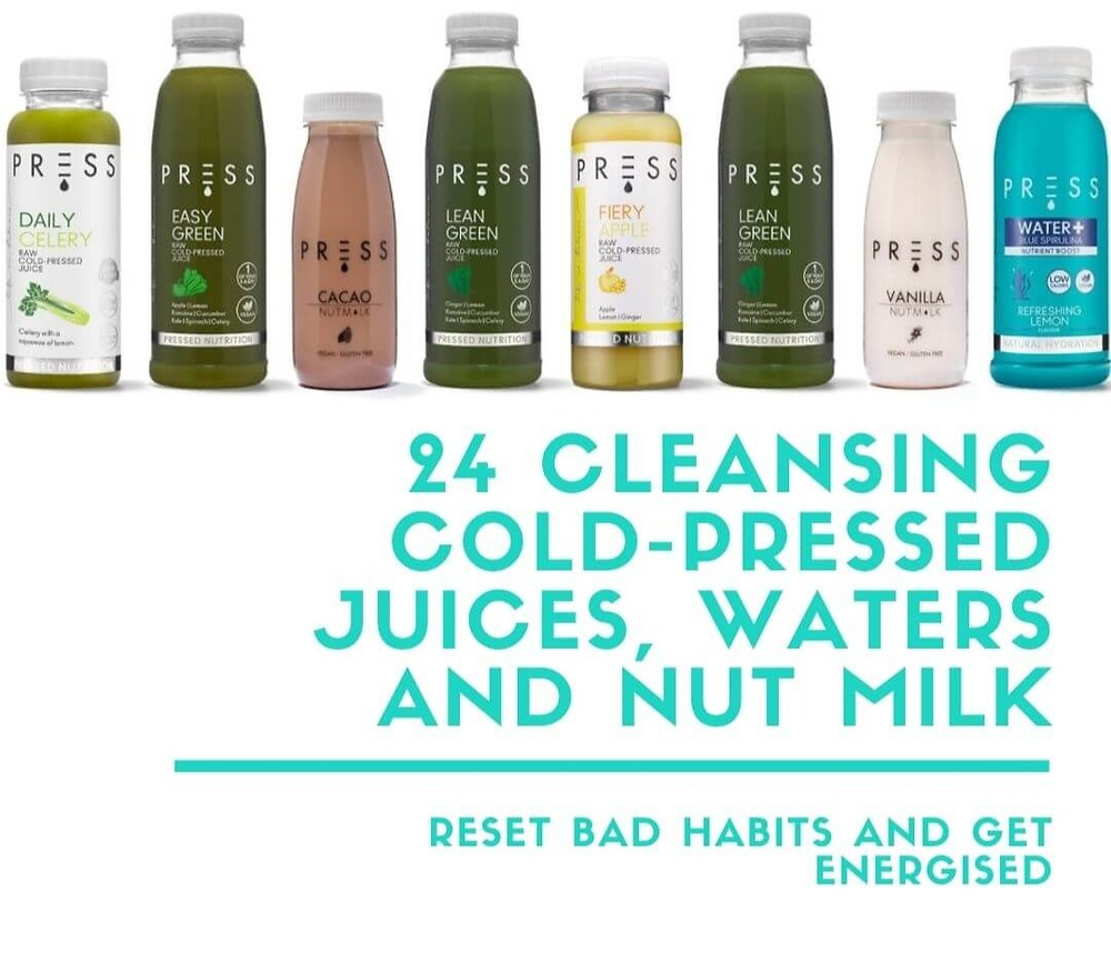 Fill Your Fridge - 24 Cleansing Cold-Pressed Juices, Waters and Nut Milk