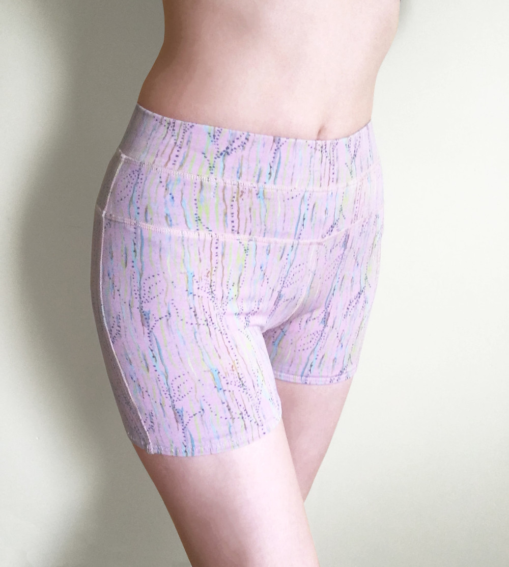 Stockholm Shorts by Milochie Yoga accessories and apparel giving you a stylish, ethical and eco-conscious alternative to your practice