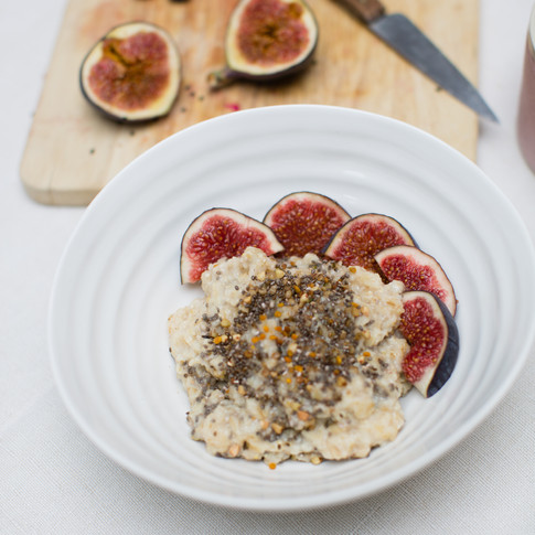 Energising Porridge Recipe with Super Seeds Breakfast Boosts