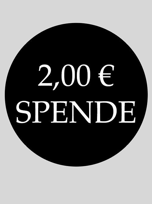 Kleine Spende