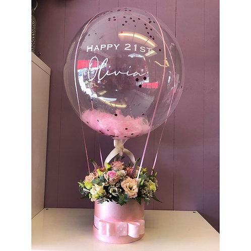 Personalised Large Hatbox Balloon