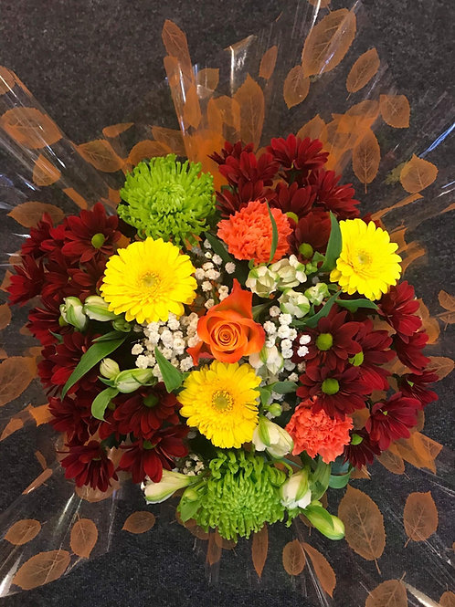 Autumnal Hand-tied in water