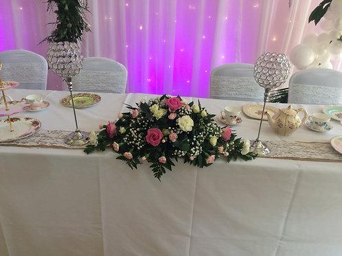 Wedding Top Table Arrangement