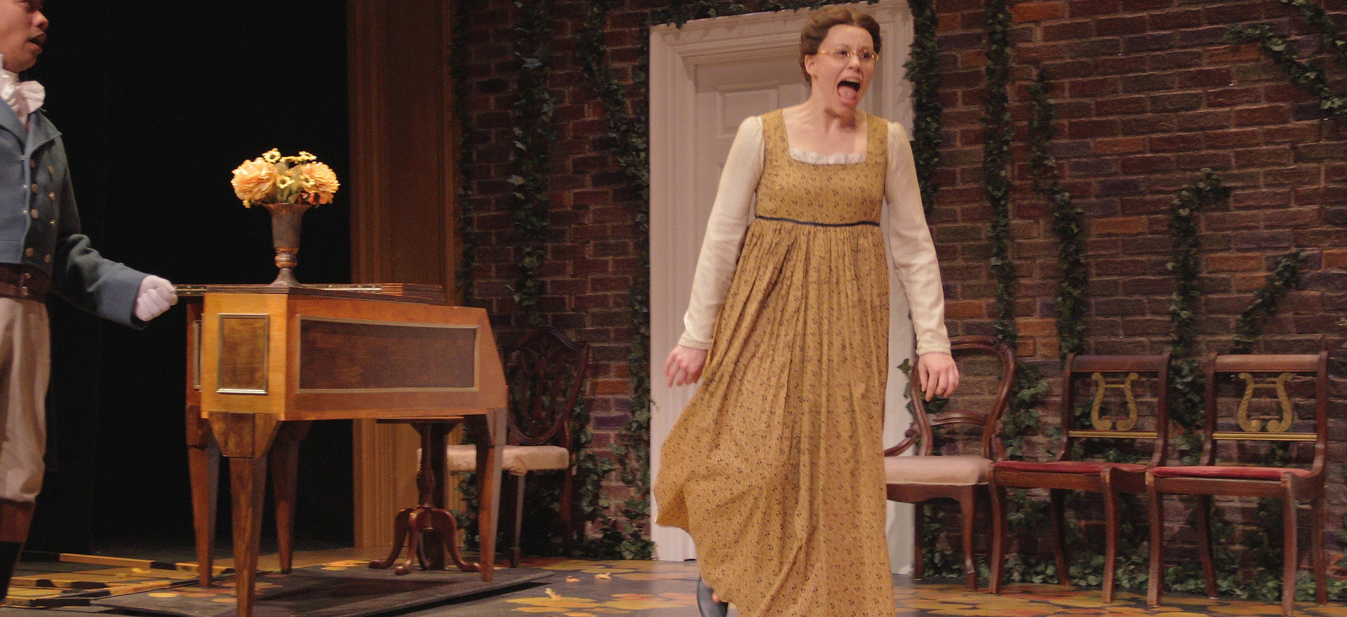 Mary in Pride and Prejudice at VA Stage