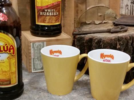Set of 2 Kaluha Coffee Mugs