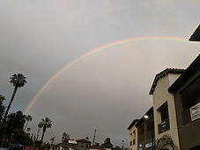 Rainbow in Riverside CA
