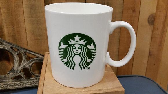 Starbucks Starbucks Coffee 2013 White Mermaid Mug