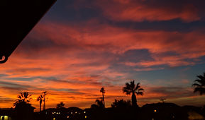 Sunset in Riverside california
