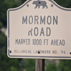 Mormon Road HWY 18 What is it ?