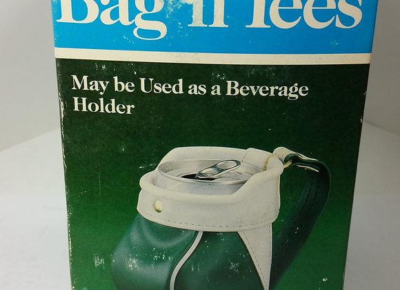 Golf n Tees Vintage Drink holder or desk organizer brand new in box has tees