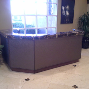 Custom Concierge Desk Anaheim