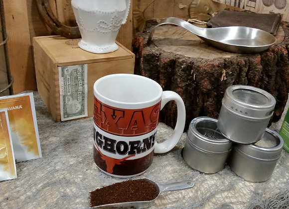 Texas Longhorns Coffee Mug University of Texas