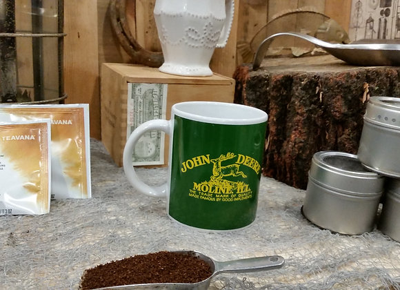 JOHN DEERE Moline, ILL. Coffee Mug Deer Logo Officially Licensed by GIBSON