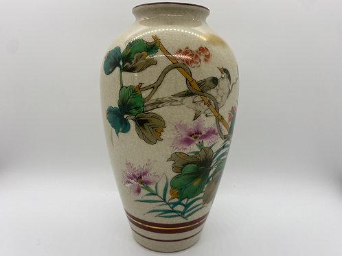 Kotani Satsuma Bird Vase