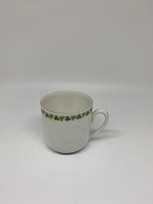 Vintage LS&S Carlsbad Shamrock Porcelain Mug
