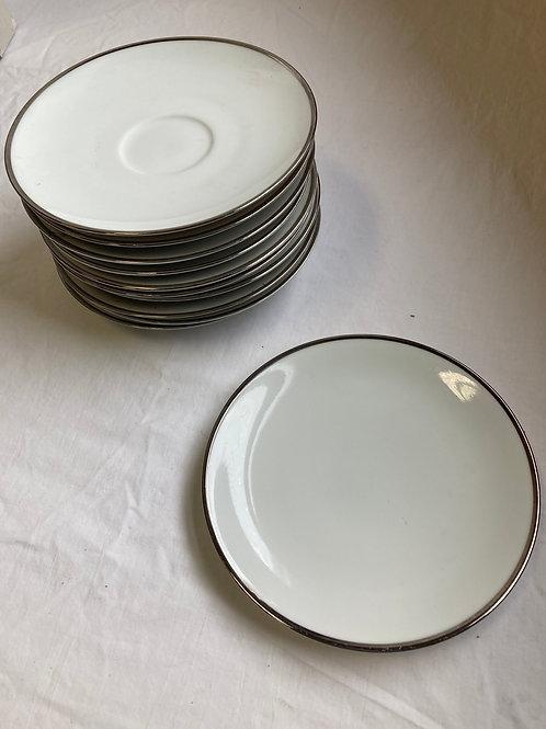 Prudential Saucer Set (Set of 11)
