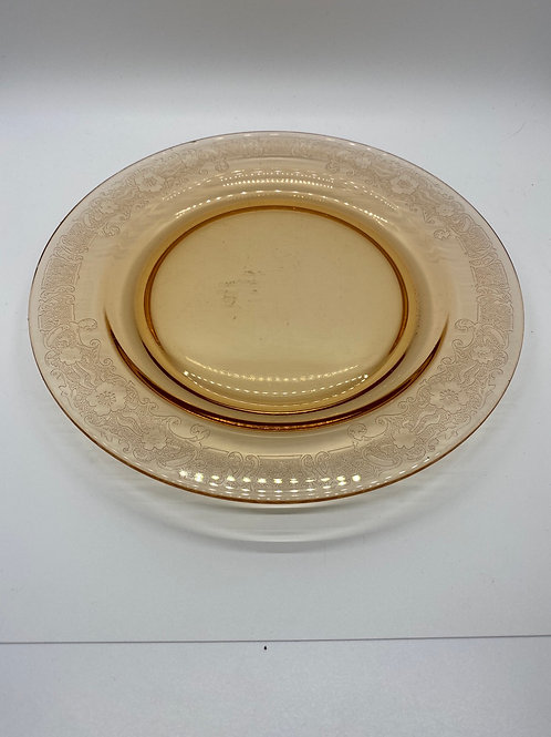 Amber Plate